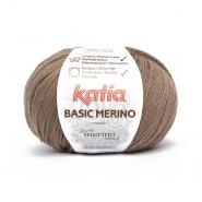 Wolle, Basic merino, 15041-68, braun