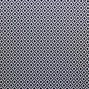 Stoff, elastisch, geometrisch, 17413-602, blau