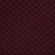 Pletivo, žakard, pike, 17281-018, rdeča