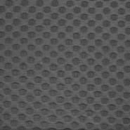 Pletivo, žakard, pike, 17281-068, siva