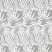 Čipka, elastična, 17445-5004, smetana