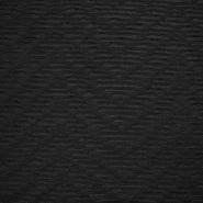 Pletivo, črte, 17493-999, črna