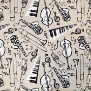 Deko, tisk, glasbila, 17501-42