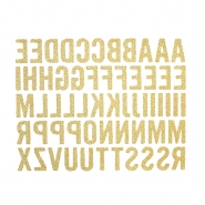Preslikač, črke, 17502-1, zlata
