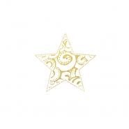 Preslikač, zvezda, 17503-1, zlata