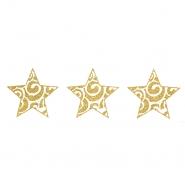 Preslikač, zvezde, 17504-2, srebrna