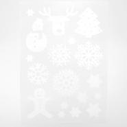 Preslikač, praznični, 17507-2, bela