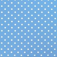 Jersey, bombaž, pike, 17132-0809, svetlo modra