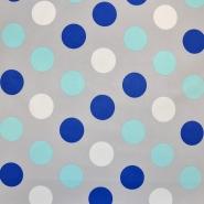 Softshell, velur, 17513-3001, sivo modra - Svet metraže