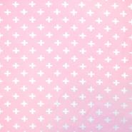 Jersey, organski bombaž, geometrijski, 17518-12