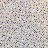Deko, tisk, cvetlični, 17529-3