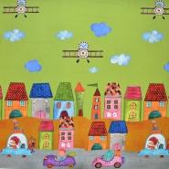 Jersey, pamuk, digital, dječji, 17544-10, zelena