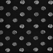 Jersey, bombaž, pike, 17567-20, črna