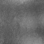 Pletivo, lame, 17595-061, črno srebrna
