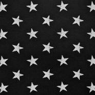 Prevešanka, zvezde, 17623-008, črna