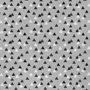 Jersey, bombaž, geometrijski, 17624-063
