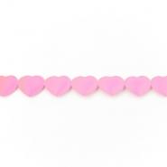 Trak, srčki, 16179-11304, roza
