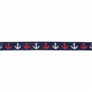 Traka, žakard, mornar, 16509-43565