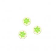 Knopf, 3D Stern, 17644-43260, grün
