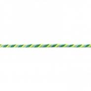 Vrvica, večbarvna, 6mm,17651-43396, zelena
