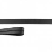 Obrobni trak, skaj, 17652-43095, črna