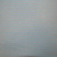 Jersey, bombaž, črte, 17660-60783, modro siva
