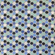 Jersey, bombaž, pike, 17666-3002, sivo modra