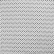 Bombaž, rišelje, pike, 17688-5003, bela