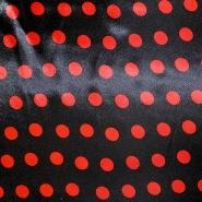 Satin, Polyester, Punkte, 13924-0002