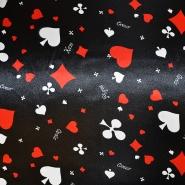 Satin, Polyester, 13930-5001, Spielkarten