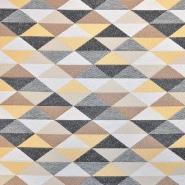 Deko žakard, geometrijski, 17714-2