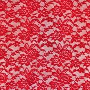 Čipka, elastična, 17830-440, rdeča
