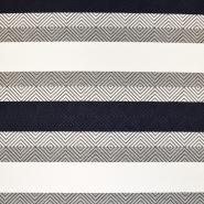 Pletivo, geometrijski, 17832-600, modra