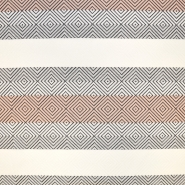 Pletivo, geometrijski, 17832-091, kožna