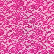 Čipka, elastična, 17830-875, roza