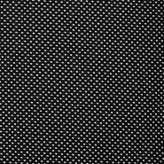 Pletivo, žakard, geometrijski, 17828-999, črna