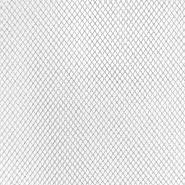 Tüll, härter, 17841-2, silbern