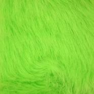 Krzno, umetno, dolgodlako, 17843-13, zelena