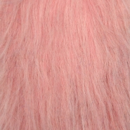 Krzno, umetno, dolgodlako, 17843-14, alt roza