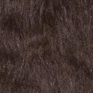 Krzno, umetno, dolgodlako, 17843-19, rjava