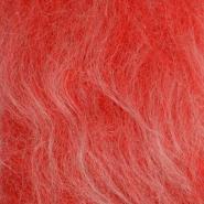 Krzno, umetno, dolgodlako, 17843-34, rdeča