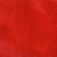 Krzno, umetno, 17843-42, rdeča