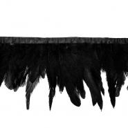 Perje na traku, 17263-43338, črna