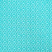 Čipka, elastična, 17172-004, turkiz