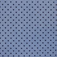 Jeans, srajčni, srčki, 17243-004