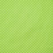 Bombaž, poplin, pikice, 17950-008, zelena