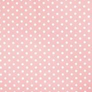 Bombaž, poplin, pike, 17952-012, roza
