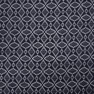 Čipka, elastična, 17610-008, modra