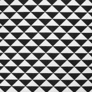 Deko, tisk, geometrijski, 17882-069, črna