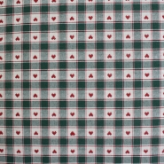 Deco jacquard, diamond and hearts, 5610